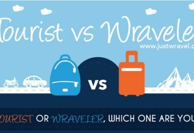 Tourist VS Wraveler! Which one are you? - Justwravel