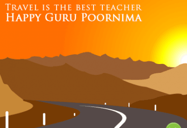 Guru Purnima: Travel is the best teacher. - Justwravel
