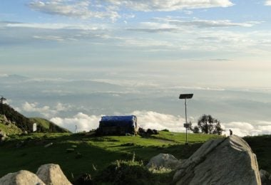Trek to Triund and Ilaqa Pass