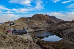 Trek to Parashar Lake on New Year