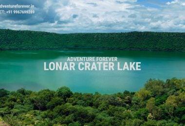 अद्भुत झील 'लोनार', उल्का से निर्मित खारे पानी की दुनिया की पहली झील