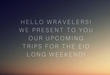 Trips on Eid Long Weekend