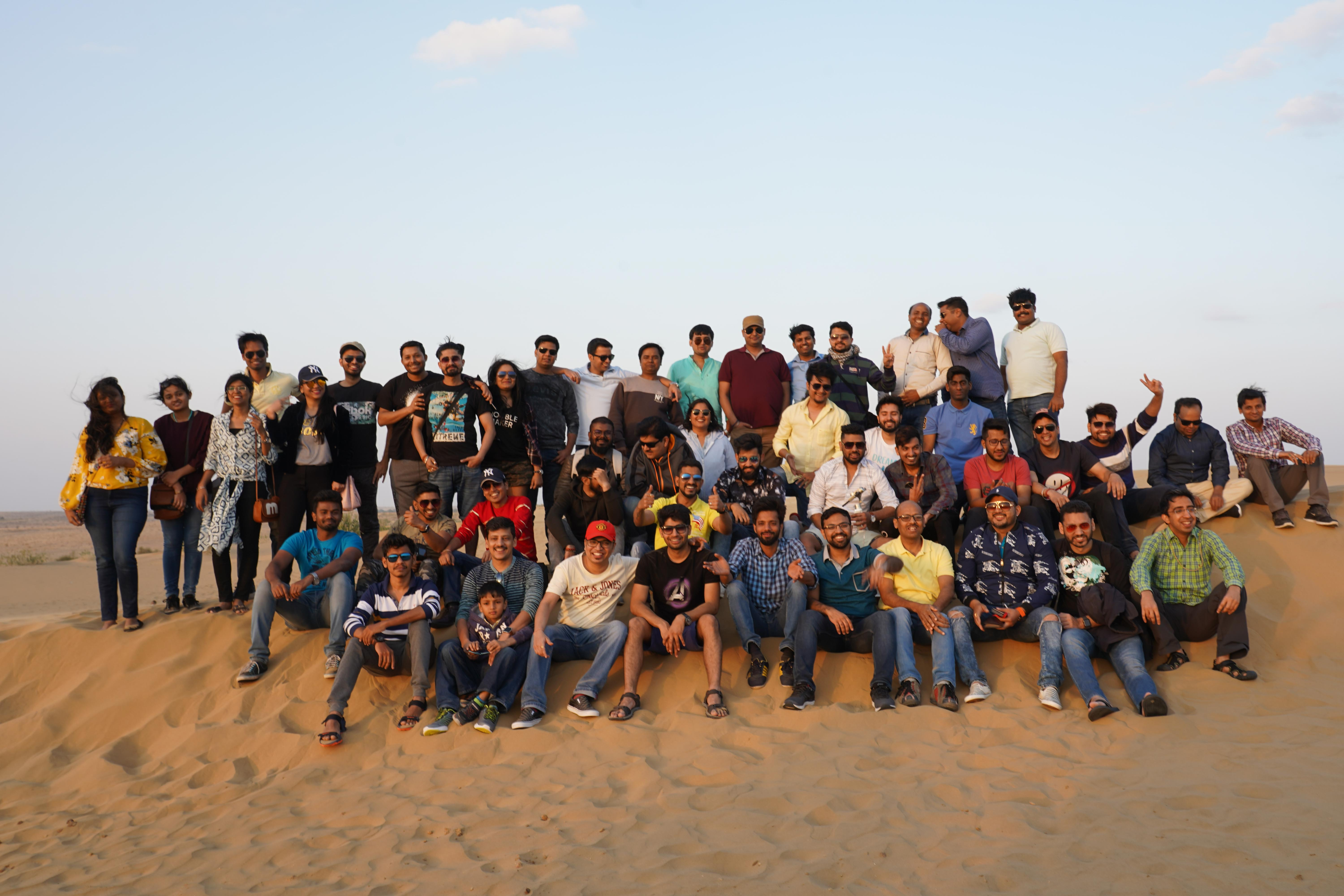 Corporate outing and team building justwravel
