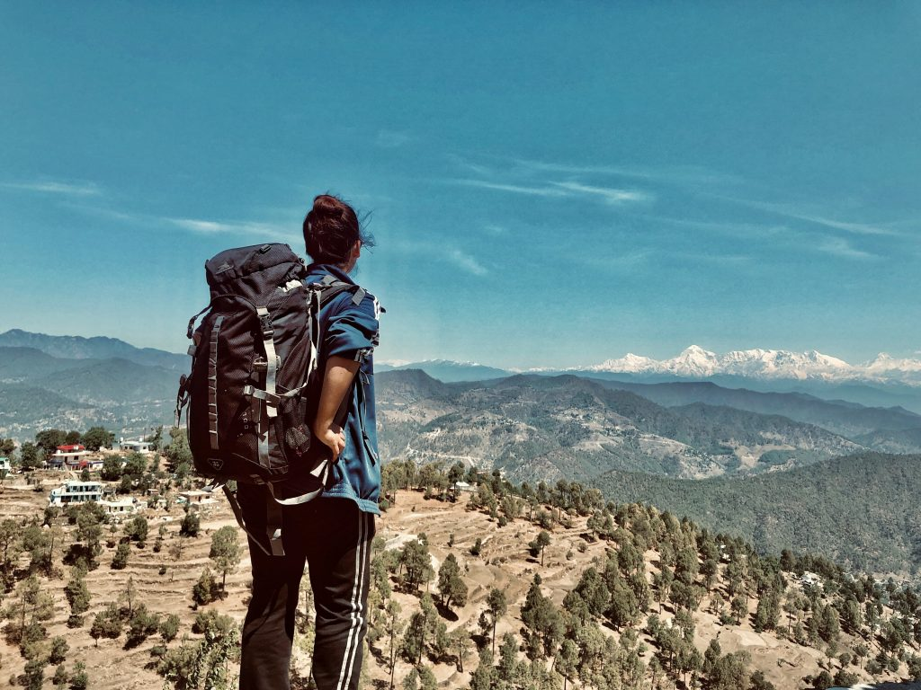 Backpacking through the mountains. Traveling, Teacher, Hills, Backpacking, Views.