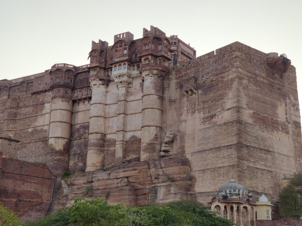 The Mehrangarh Fort  in all its might