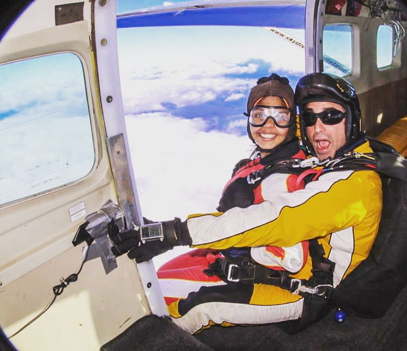 sky diving, New Zealand, Taupo, adventure sports, travel plans, solo trips