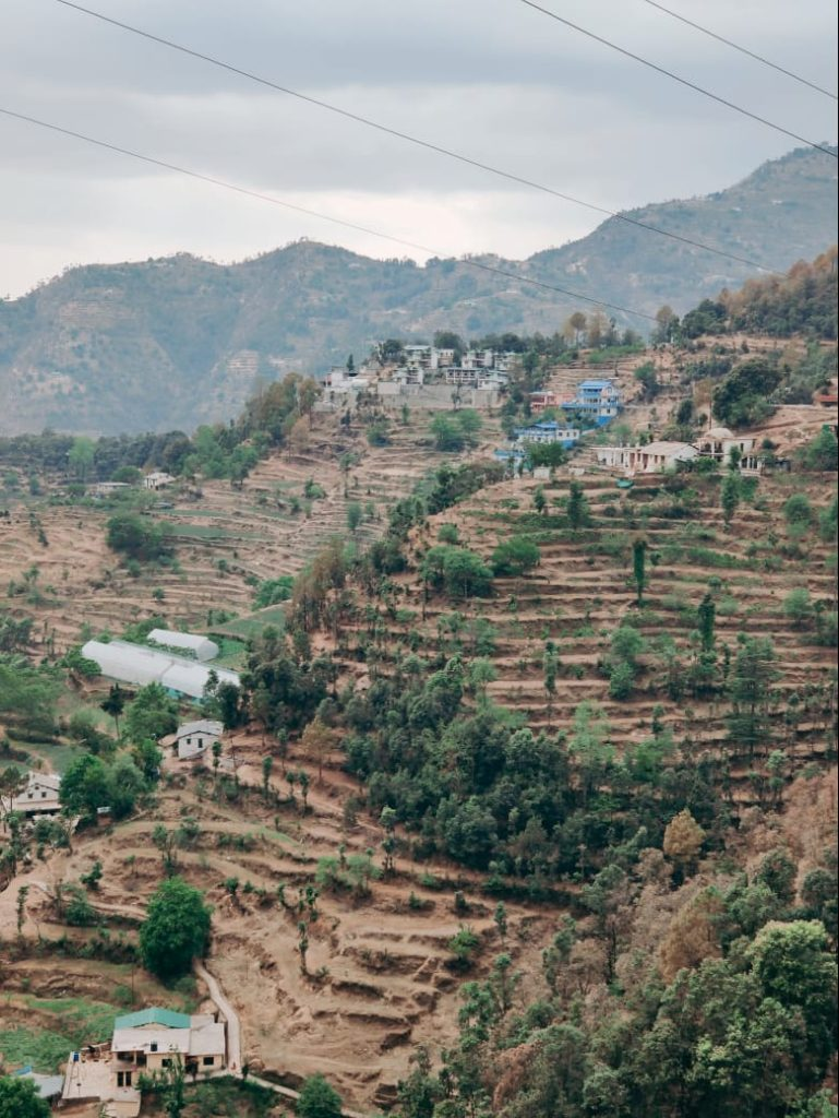 A small village named Kasialekh in Uttarakhand. Traveling, Discovery, New Locations.
