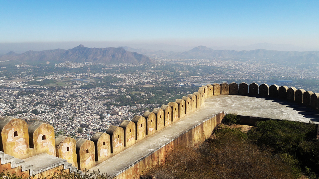 View of Ajmer City - highlights of Rajasthan Tourism