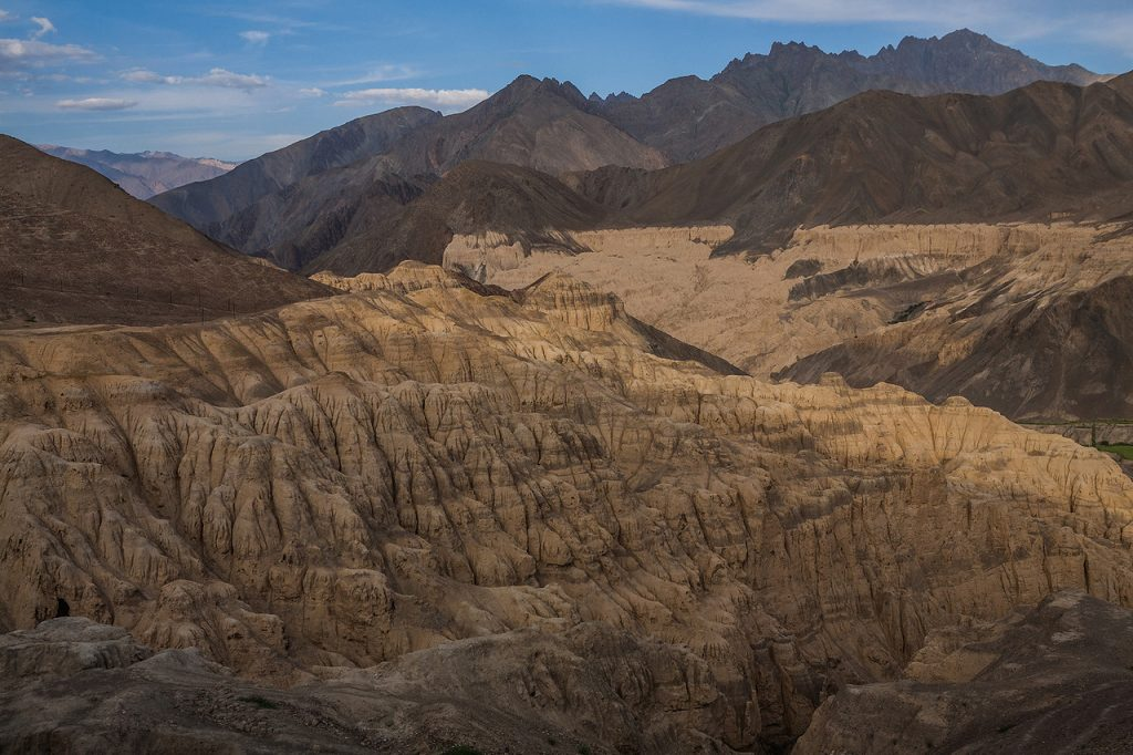 Moonscape in Ladakh. Moon like craters in Ladakh. Why Ladakh is different from the world.