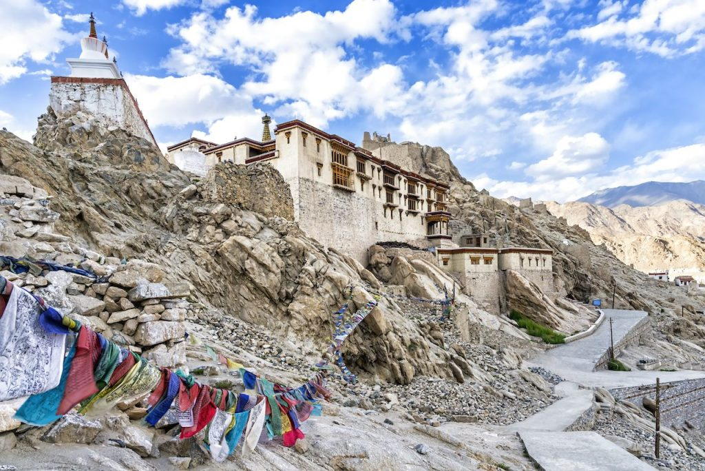 Shey Monastery in Ladakh. Views of the region. History. Buddhism and culture.