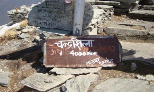 Chandrashila Peak