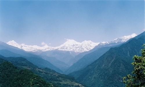 Kanchenjunga from singhik