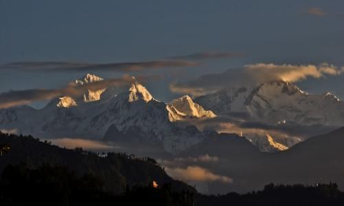 Rinchenpong Kanchenjunga view