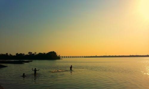 Sunset view at Godavari