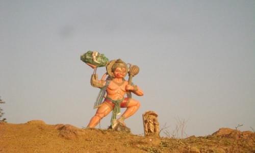 Rajhara Dam Hanumanji