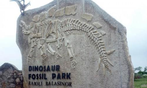 Dinosaur Fossil Park Balasinor
