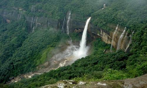 Cherapunjee Waterfalls