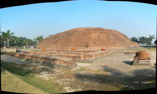 Buddha Cremation Stupa
