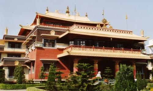 Sarnath Tibetan Temple