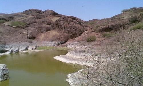 Lake Gadh Siwana Fort