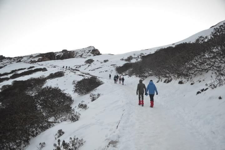 Trail to Tungnath
