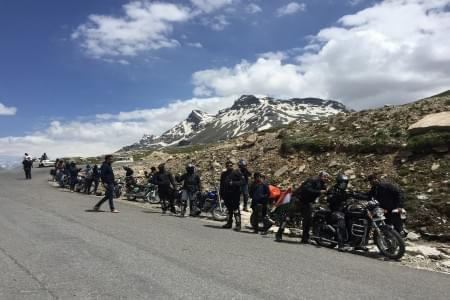 Road trip to Leh Ladakh from Manali - Bike Tour - Justwravel Packages