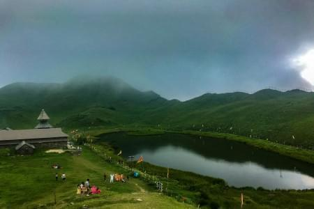 Parashar Lake Trek - Justwravel Packages