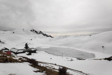 Parashar Lake Trek - Justwravel Packages