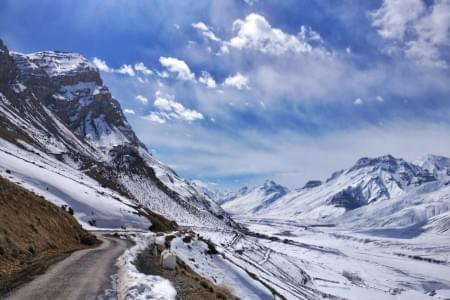 Spiti Valley in Winters - Justwravel Packages