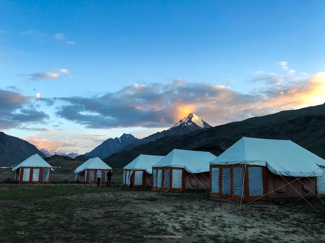 camping in Spiti Valley