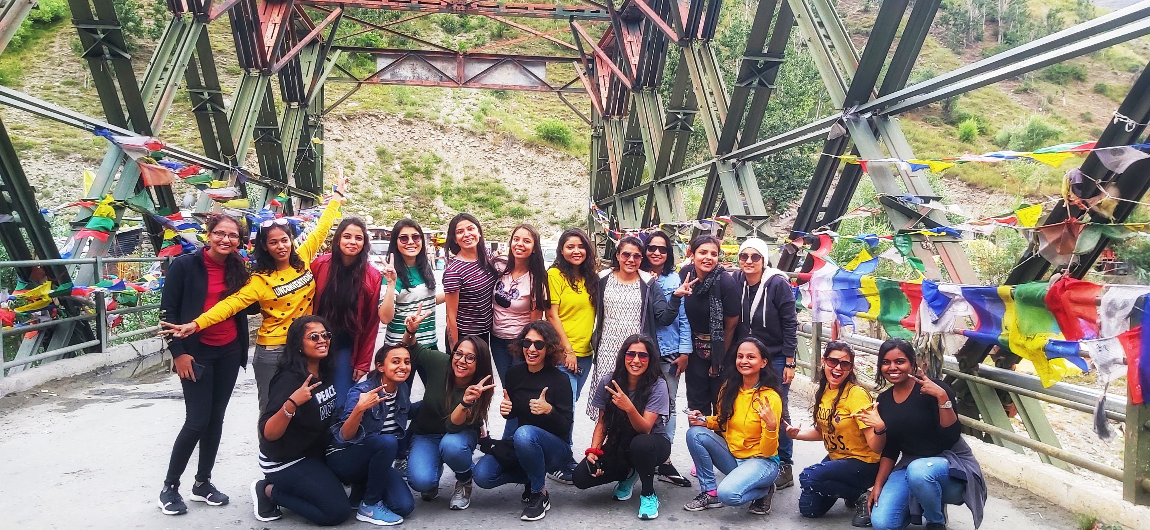 Group at Tandi Bridge
