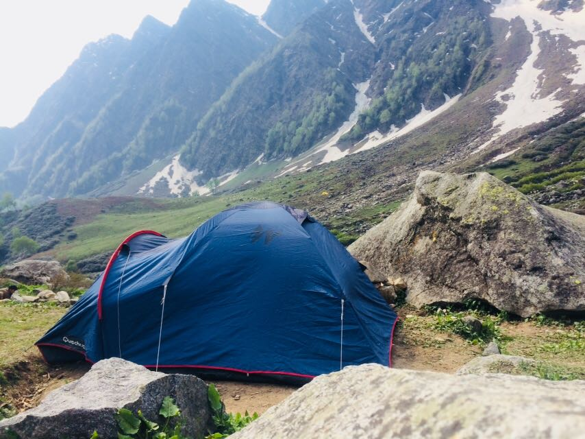 Camp stay at Beas Kund