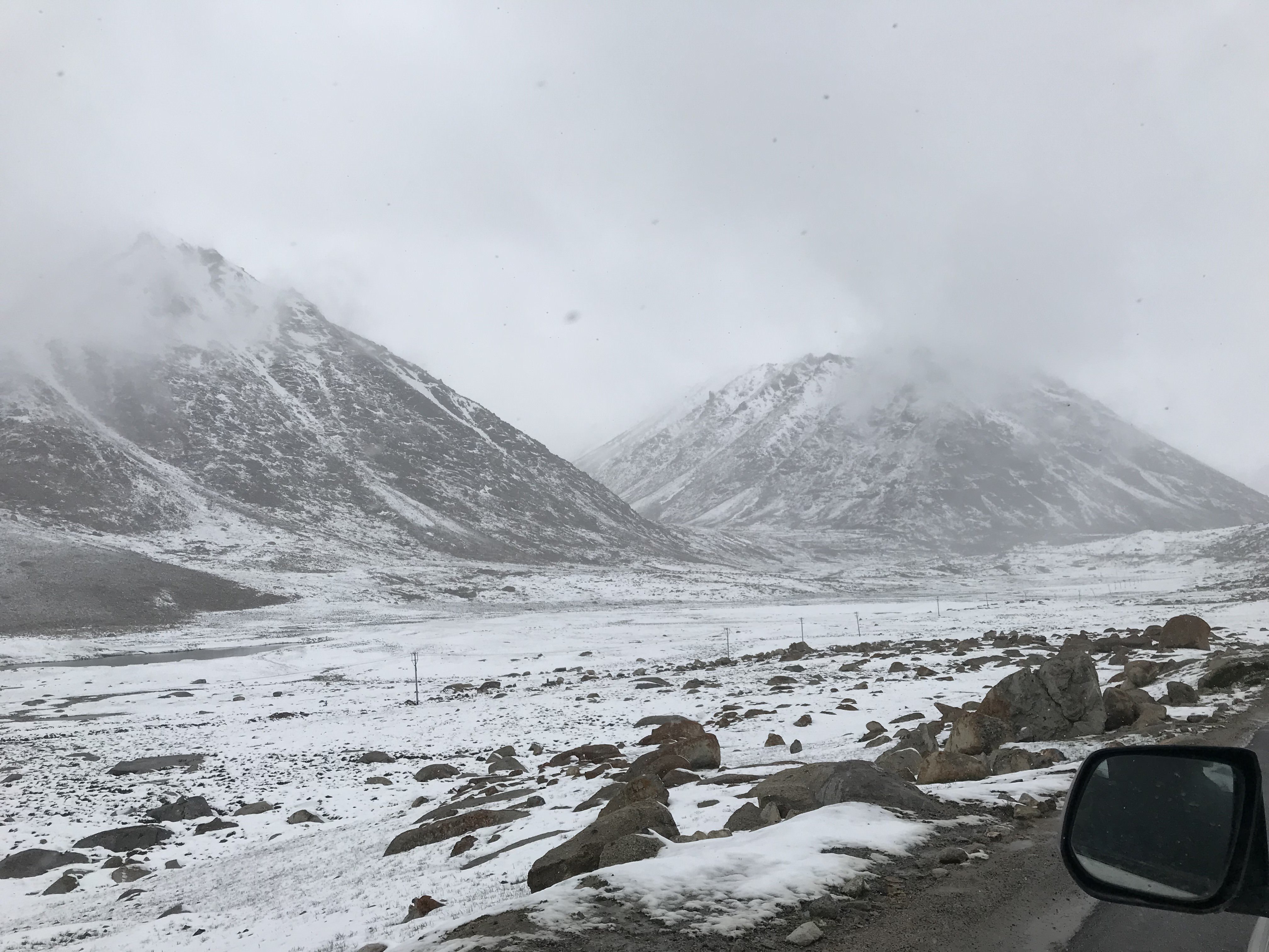 Change of weather at the Pass