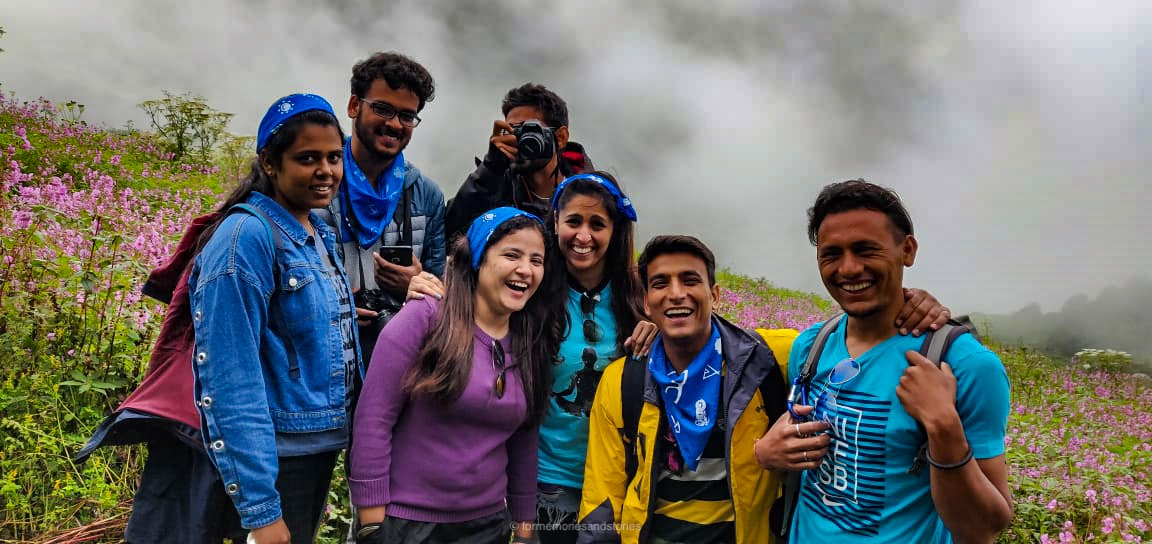 Group at Valley of Flowers