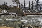 Snow on Har ki Doon Trail
