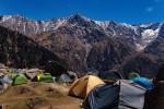 Camping at Triund