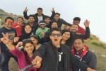 Group members at Chandrashila Summit