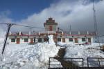 Snow covered Kanatal