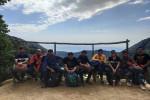 Group enroute to Kareri Lake