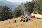 At Nagtibba Base Camp