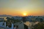Sunset at Pichola lake