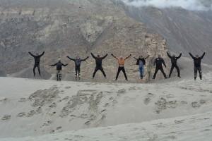 Group at Nubra Valley