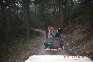 At Jungle Safari Corbett