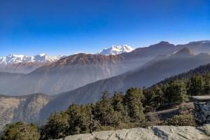 Trekking from Chopta to Tungnath