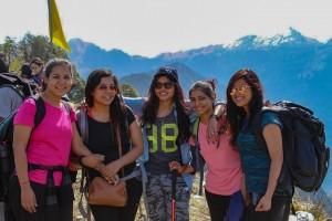 Group at Chopta