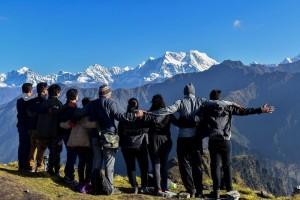At Chandrashila Peak