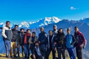 Group at Chandrashila Peak