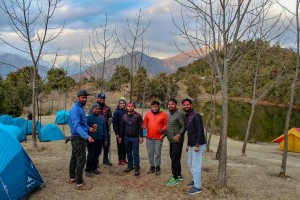Camping at Deoriatal