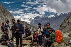 Group during Hampta Pass Trek