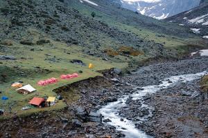 Burans Kandi Campsite / Rupin Pass/Captured in June